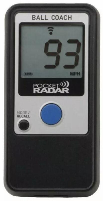 Pocket Radar Ball Coach Pro-Level Speed Training Tool and Radar Gun. PR1000-BC