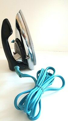 Vintage GE General Electric Travel Steam Iron in Very Good Working Condition