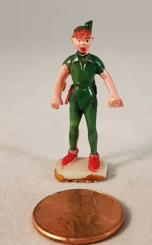 Marx Disney Miniatures Disneykins Peter Pan (Hand Painted-1961)