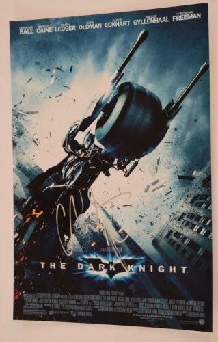 Christian Bale Signed Autograph THE DARK KNIGHT 12X18 Photo Poster COA VD