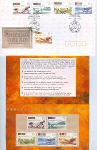 Australians Under Fire 1992 stamp issue Issued 19 February 1992 West Perth Perth City Area Preview