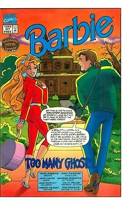 BARBIE RARE GIVEAWAY PROMO HALLOWEEN SPECIAL EDITION COMIC 2 MARVEL NM (Halloween Special Promo)
