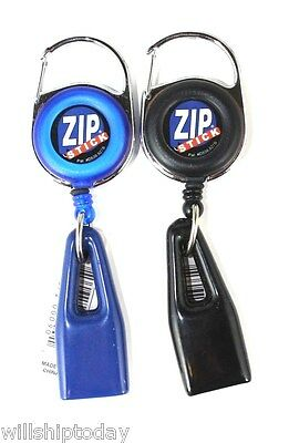 2 Zip Stick Lip Balm Chapstick Holder Zipstick - 5 colors to