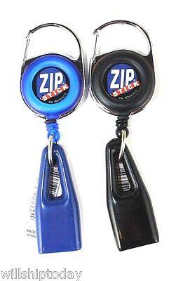 2 Zip Stick Lip Balm Chapstick Holder Zipstick - 5 colors to