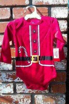 Santa Claus Onesie (SANTA CLAUS ONESIE NWT 3-6 MONTHS VERY CUTE!!! L@@K!!! WOW!!! CHRISTMAS OUTFIT)
