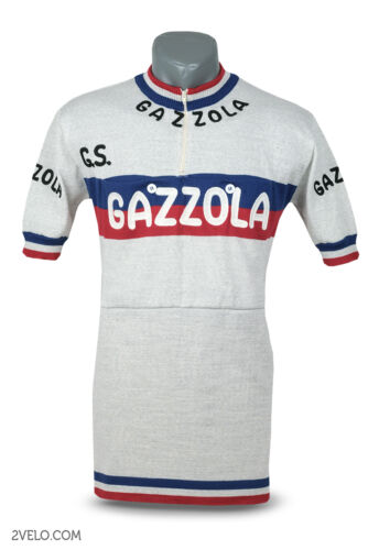 GAZZOLA vintage wool jersey, new, never worn M