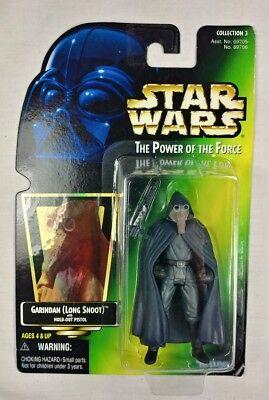 STAR WARS POTF 4 LOM hologram card  1997 KENNER MOC