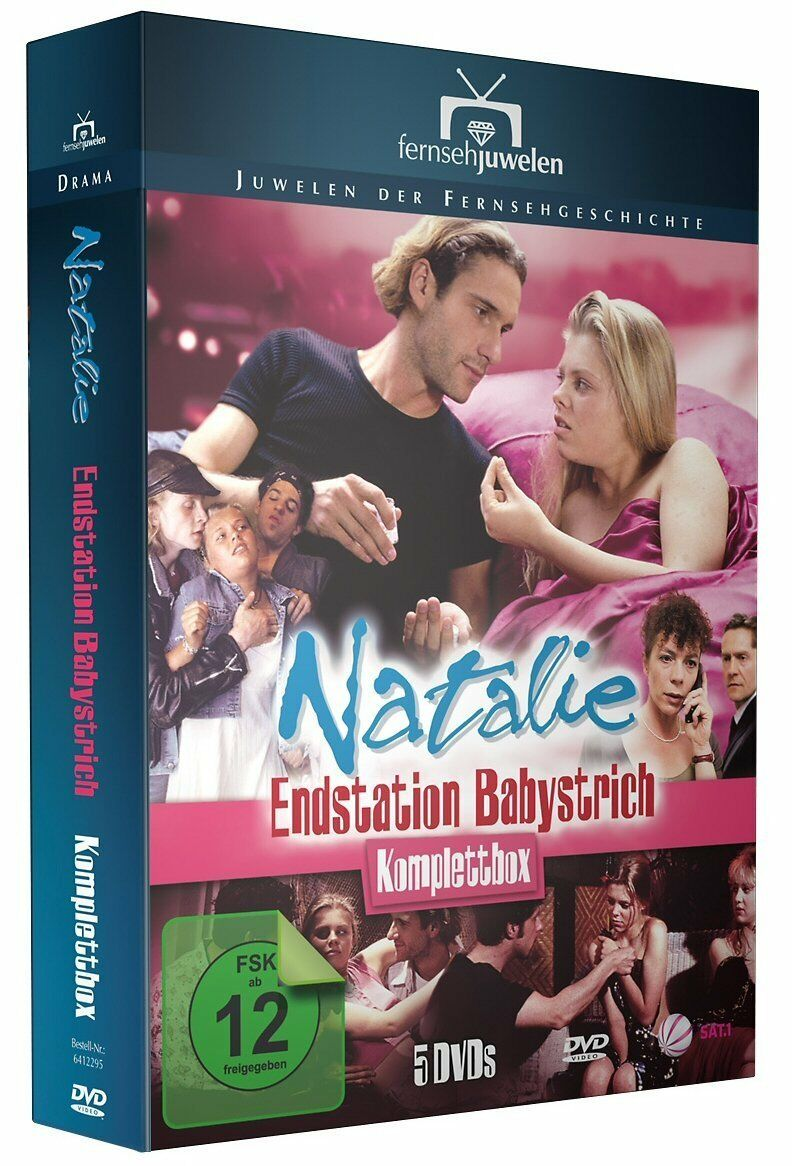 Natalie - Endstation Babystrich, Komplettbox, 5 DVD Edition NEU + OVP!