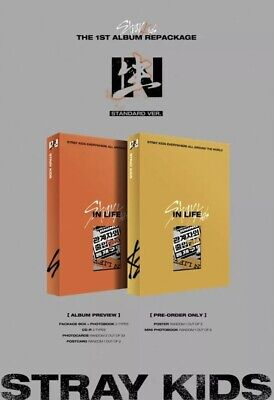 [ STRAY KIDS ] - IN生 (IN LIFE) Standard Edition Album SEALED Random Version