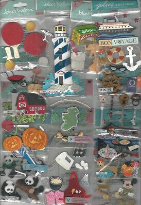 U CHOOSE  IRREGULARS Jolee's 3D Stickers (broken as stated