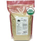 NuSci 100% Maca root Organic Powder Pure Peruvian 1000g (2.2 Lb)