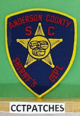 ANDERSON COUNTY, SOUTH CAROLINA SHERIFF (POLICE) SHOULDER PATCH SC
