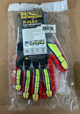 Ringers Gloves R-flex Series Knit Cut 5 Cut Resistant Sz Large New