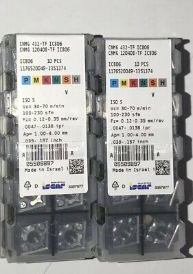 ADKT 1505PDR HM IC908 ISCAR *** 10 INSERTS *** FACTORY PACK ***