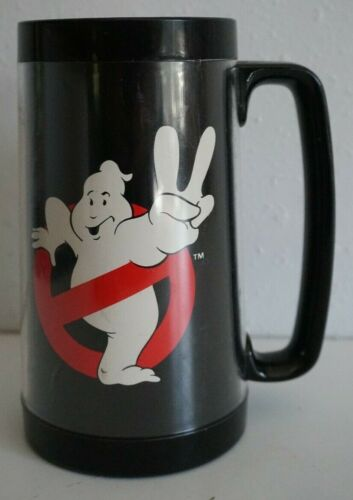 VTG 1989 Ghostbusters II 2 Insulated Mug Made in USA