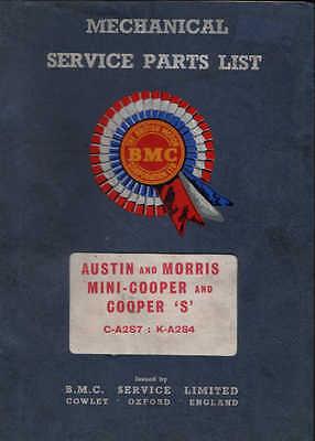 BMC BL Austin Mini Cooper & S mk1 Archive Works ST Halda