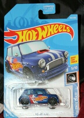 HOT WHEELS MORRIS MINI HW RACE TEAM BEST FOR TRACK 242/250 NEW (Best Wheels For Mini Cooper)