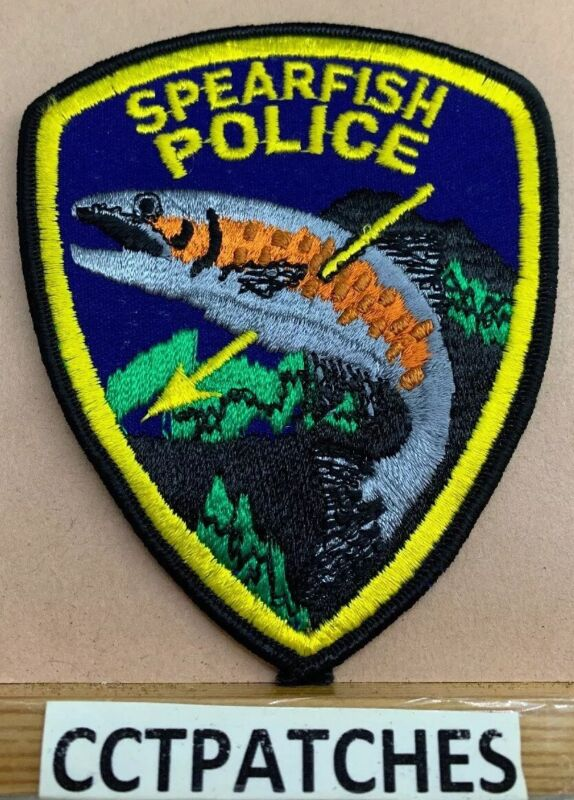 SPEARFISH, SOUTH DAKOTA POLICE SHOULDER PATCH SD