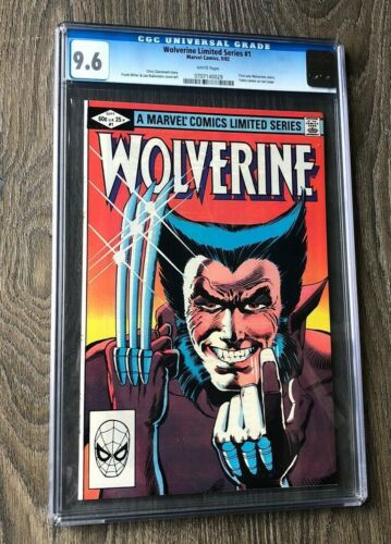 Wolverine #1 CGC 9.6 White Pages