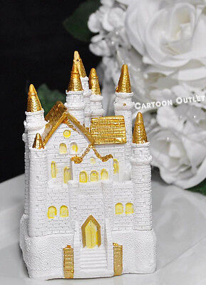 CASTLE CAKE TOPPER  QUINCEANERA SWEET 16 PRINCESS BIRTHDAY PARTY 4.5