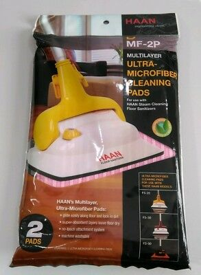 Used, HAAN MF-2P Pink Microfiber Cleaning Pads 2 Pak FS-20 FS-30 FS-50 for sale  El Paso