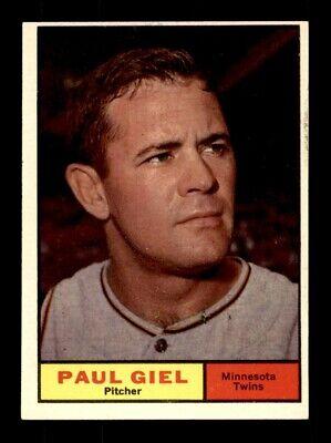 1961 Topps #374 PAUL GIEL EX+ *y5