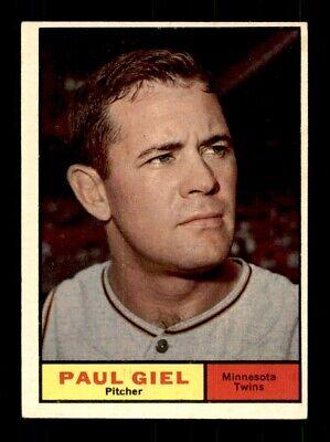 1961 Topps #374 PAUL GIEL EX *T6