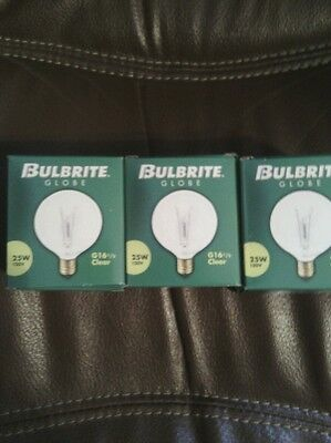 3~ replacement 25 watt Light Bulbs Fits Full Size Scentsy Warmers - FREE SHIP!!