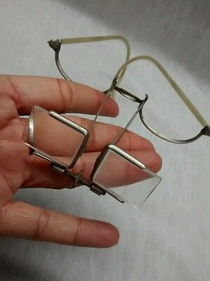 Rare Antique American Optical Co Surgical Eyeglasses Beebe Binocular