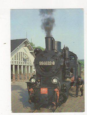 Schmalspurbahn Putbus Goehren Germany 1990 Postcard 478a