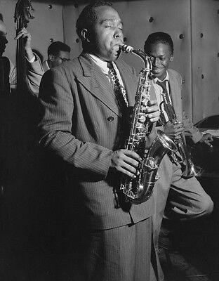 CHARLIE PARKER 8X10 GLOSSY PHOTO PICTURE