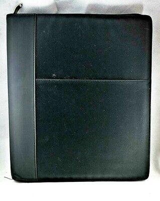 Large 3 Ring Binder Padfolio Log Book Cover Organizer