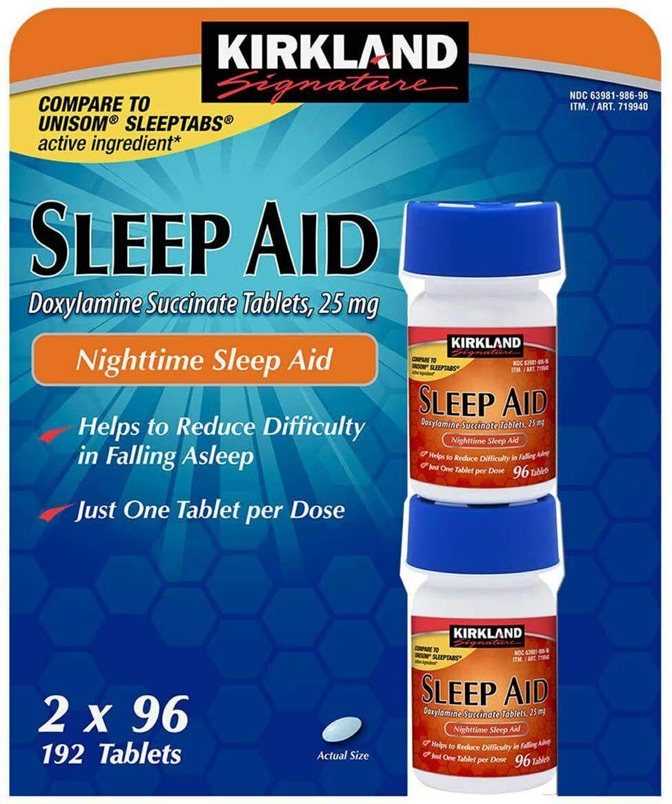 Kirkland Signature Sleep Aid Doxylamine Succinate 25 Mg - 19