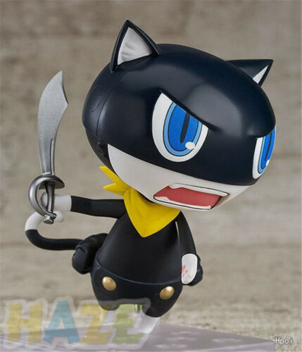 Figure Figurine Model Toys With BOX Japanese anime Persona5 Morgana Clay Q ver