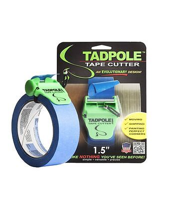 Tadpole Tape Cutter 1.5 Dispenser Tool Shipping Moving Painting