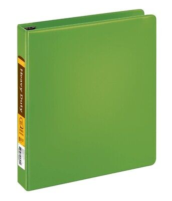 Office Depot Heavy-duty 3-ring Binder 1 12 D-rings Army Green