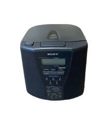 Sony ICF-CD833 Dual Alarm AM/FM CD Player Clock Radio Mega Bass 5 Presets Tested