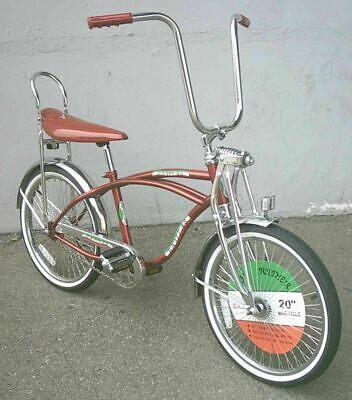 "NEW  20"" Lowrider Beach Cruiser Complete W/ 68 spoke Bike Bi"
