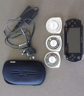 PSP plus 3 games Lee Point Darwin City Preview