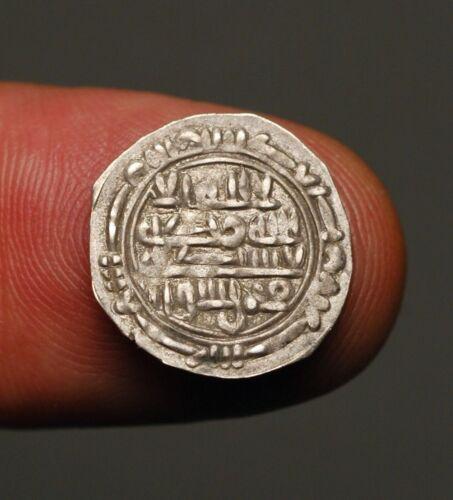 IS48-15   YEMEN Rassid al-Nasir AH301-325 / 913-937AD Silver 1/6 dirham