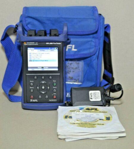 AFL Noyes OFL 280-100 SM Fiber FlexTester OTDR w VFL Pwr Mtr OFL280-100 OFL280