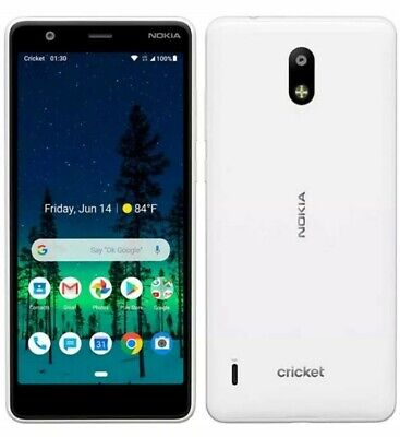 Nokia 3.1C  - 32GB - Snow White - Cricket Wireless Excellent Condition