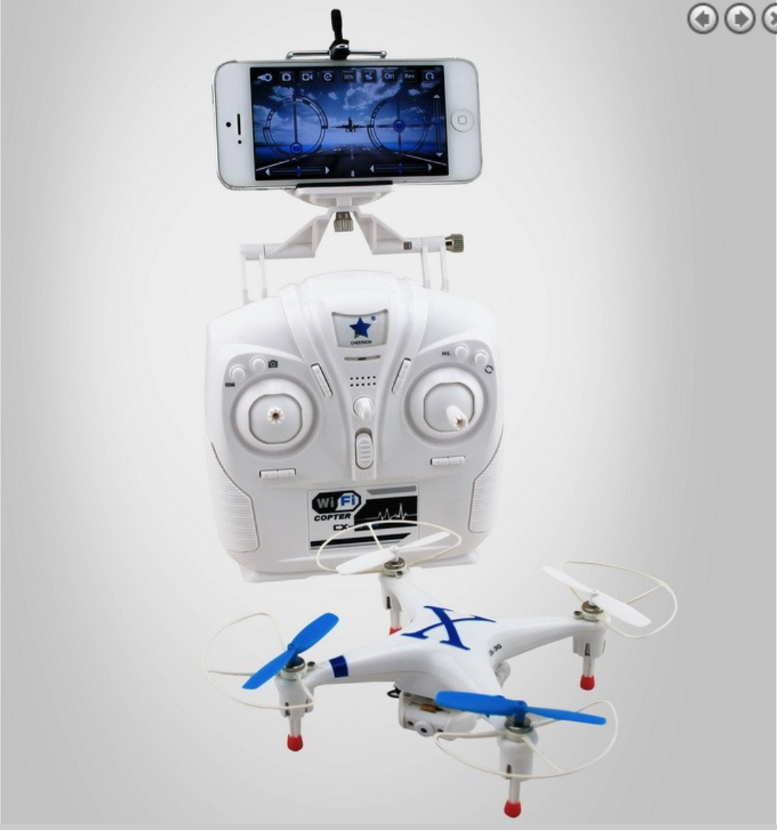 Cheerson CX-30W Wi-Fi FPV Quadcopter Blue