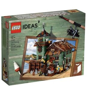 LEGO Ideas Old Fishing Store Building Kit - 21310