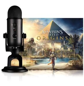 Blue 0205 Yeti Plus Assassin's Creed Streamer Bundle, Blackout