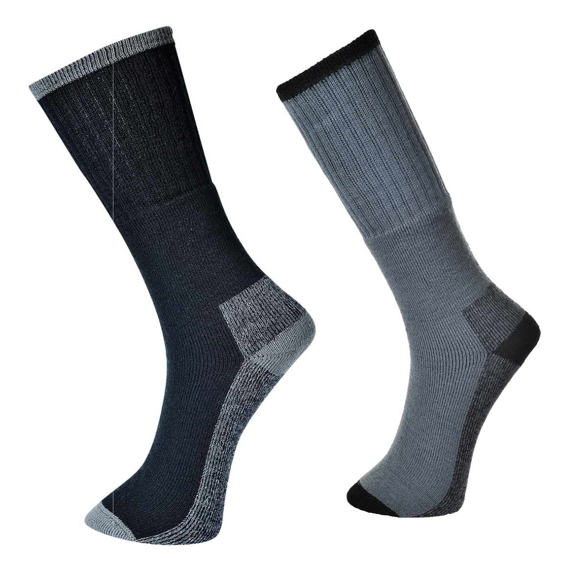 MEN`S  Colours Work Cushioned Safety Socks With Reinforced Heel and Toe Lot