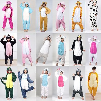 Hot Unisex Adult Pajamas Kigurumi Cosplay Costume Animal Onesie1 Sleepwear Suit