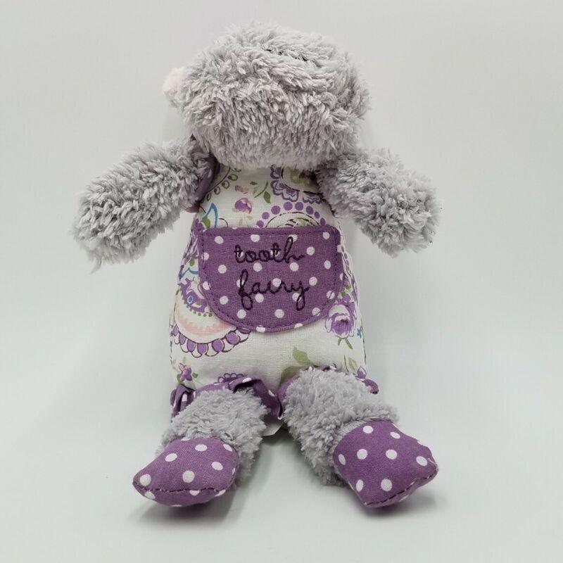 "Maison Chic Purple Grey Hippo 9"" Tooth Fairy Plush Toy"