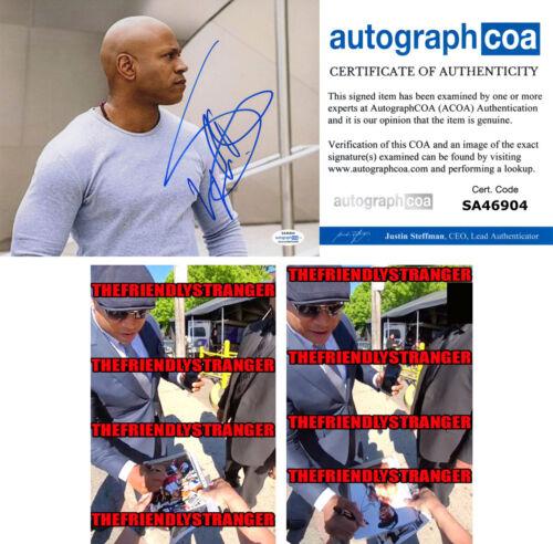 "LL COOL J signed Autographed ""NCIS: LOS ANGELES"" 8X10 PHOTO - PROOF - ACOA COA"