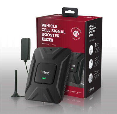 weBoost Drive X Cell Phone Signal Booster Kit For Car Truck SUV NEW (475021)